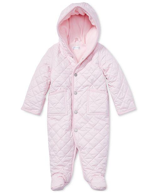 04812277 ... Polo Ralph Lauren Ralph Lauren Baby Girls 9M Quilted Barn Bunting ...