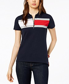Striped Short-Sleeve Polo, Created for Macy's