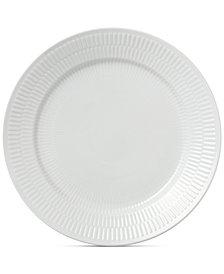 Royal Copenhagen White Fluted Dinner Plate