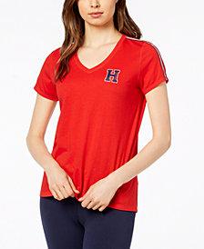 Tommy Hilfiger Sport V-Neck Logo T-Shirt