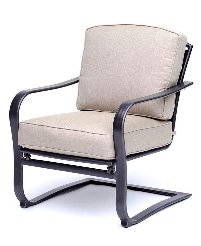 Furniture - Vintage II C-Spring Chair, with Sunbrella® Cushions