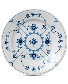 Blue Fluted Plain Bread & Butter Plate