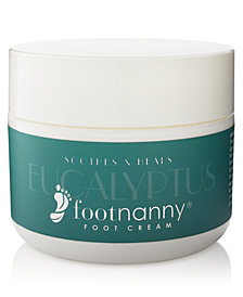 Footnanny Eucalyptus Foot Cream, 8-oz.