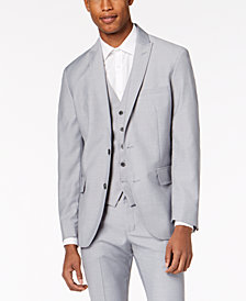 I.N.C. Men's Slim-Fit Gray Suit Jacket, Created for Macy's