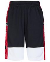 ae165191e10828 Jordan Big Boys Colorblocked Rise Shorts