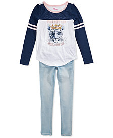 Epic Threads Big Girls T-Shirt & Jeans, Created for Macy's
