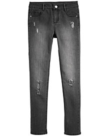 Epic Threads Big Girls Sequin-Trim Jeans, Created for Macy's