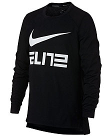 Nike Big Boys Elite-Print T-Shirt