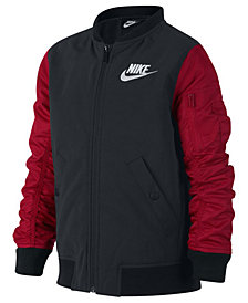 Nike Big Boys Varsity Bomber Jacket