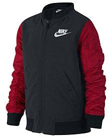 Nike Big Boys Varsity Bomber Jacket