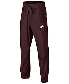 Nike Big Boys Woven Jogger Pants