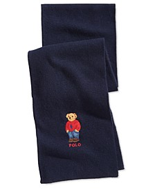 Men's Polo Bear Scarf