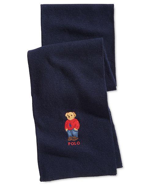 Polo Ralph Lauren Men's Polo Bear Scarf