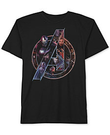 Marvel Little Boys Avengers Graphic-Print Cotton T-Shirt