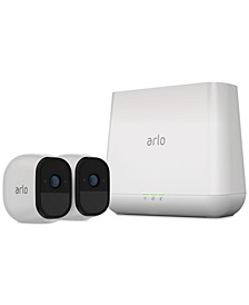 Pro Wire-Free HD Security with 2 Cameras