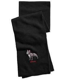Polo Ralph Lauren Men's French Bulldog Scarf