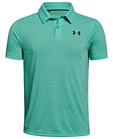 Under Armour Big Boys Threadborne Polo Shirt