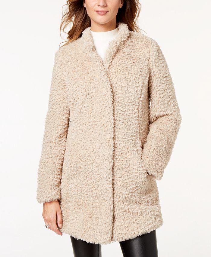 Kenneth Cole - Faux-Fur Coat