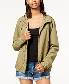 Volcom Juniors' Enemy Stone Hooded Jacket