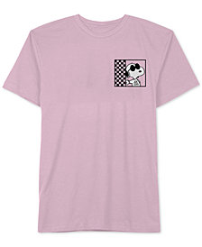 Hybrid Men's Snoopy 80s Cool Graphic T-Shirt