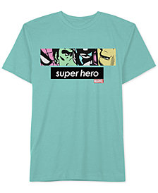 Hybrid Men's Marvel Superhero Graphic T-Shirt