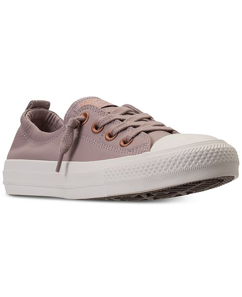2a173c96e136 ... Converse Women s Chuck Taylor Shoreline Ox Casual Sneakers from Finish  Line ...