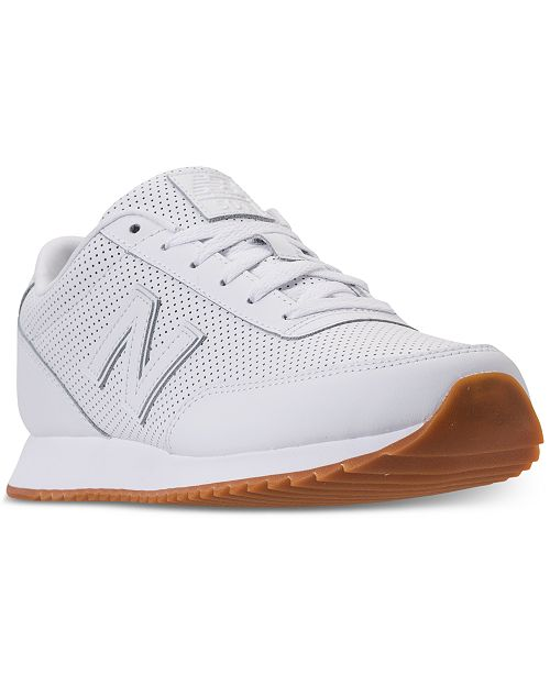 16ae4246cdeee New Balance Men's 501 Leather Sneakers from Finish Line & Reviews ...