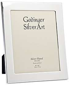 """Godinger Philip Whitney Silver-Plated 5"""" x 7"""" Picture Frame"""
