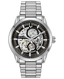 Men's Automatic Sutton Stainless Steel Bracelet Watch 43mm
