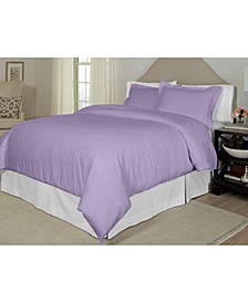 Printed  Full/Queen Duvet Set, 300 Thread Count Cotton Sateen