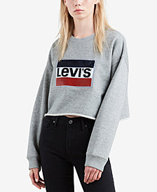 Levi's® Limited Cotton Graphic Sweatshirt, Created for Macy's
