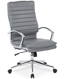Fawcytt Faux-Leather Chair