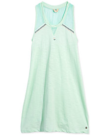 Roxy Big Girls Silver Screen Cotton Dress