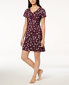 Charter Club Cotton Picot-Trim Sleepshirt, Created for Macy's