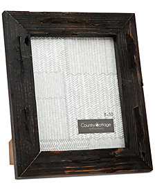 "Philip Whitney 8"" x 10"" Black Barn Picture Frame"