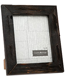 "Godinger Philip Whitney 8"" x 10"" Black Barn Picture Frame"