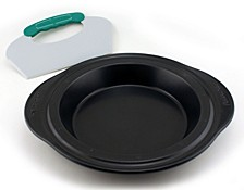 Perfect Slice Pie Pan with Cutting Tool