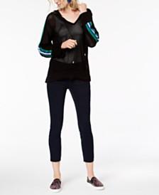 I.N.C. Varsity Hoodie & Skinny Jeans, Created for Macy's