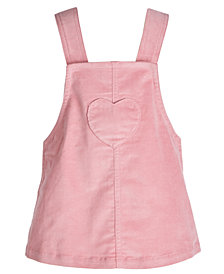 First Impressions Baby Girls Corduroy Heart Jumper, Created for Macy's