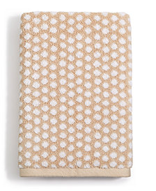 Charter Club Elite Cotton Fashion Dot Hand Towel, Created for Macy's
