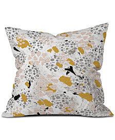 Deny Designs Marta Barragan Camarasa Abstract Shapes of Textures and Throw Pillow
