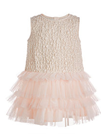 First Impressions Baby Girls Ruffle Statement Dress, Created for Macy's