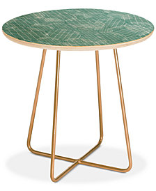 Deny Designs Camilla Foss Eggs II Round Side Table