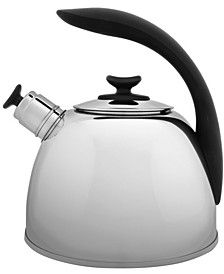Essentials Lucia 2.6-Qt. Stainless Steel Whistling Tea Kettle