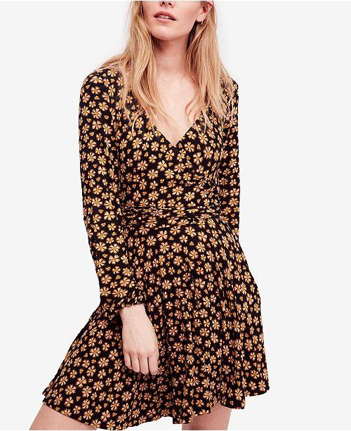 e03ad943bee2 Free People Pradera Floral-Print Wrap Dress & Reviews - Dresses ...