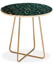 Holli Zollinger Mandala Tile Marine Round Side Table