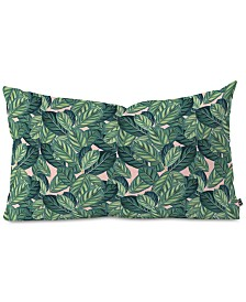 Deny Designs 83 Oranges Botany Oblong Throw Pillow