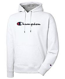 Champion Men's Script Logo Powerblend Hoodie
