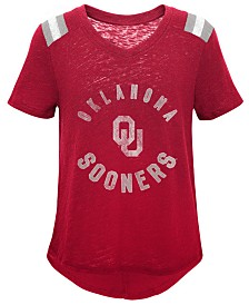 Outerstuff Oklahoma Sooners Retro Block T-Shirt, Girls (4-16)