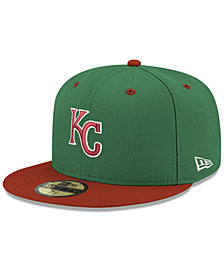New Era Kansas City Royals Green Red 59FIFTY FITTED Cap